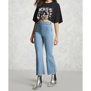 NWT Forever 21 High Rise Flare Jeans